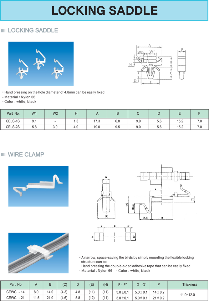 cable terminal block accessories